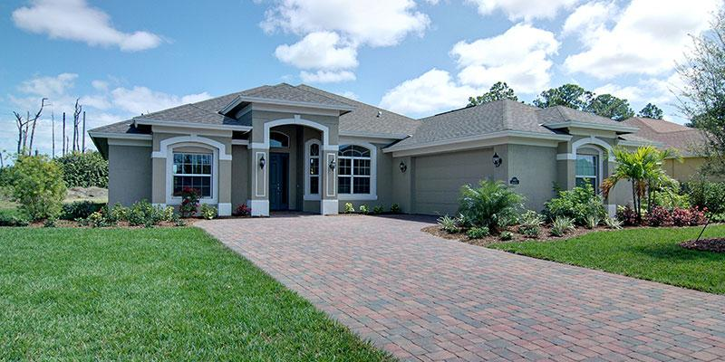 Avalon Model 3 Bedroom 3 Bath New Home In Vero Beach Fl