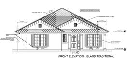 Island Traditional Elevation