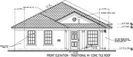 Traditional Elevation - Option