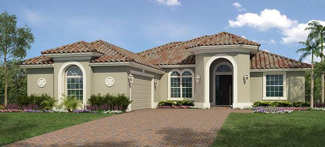 Tacoma Model 3 Bedroom 3 Bath New Home In Fort Pierce
