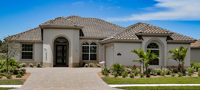 Vero beach fl new homes gho homes for Mediterranean elevation