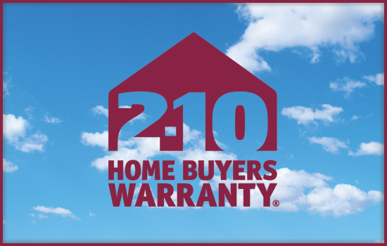 2-10 Home Buyers Warranty Award