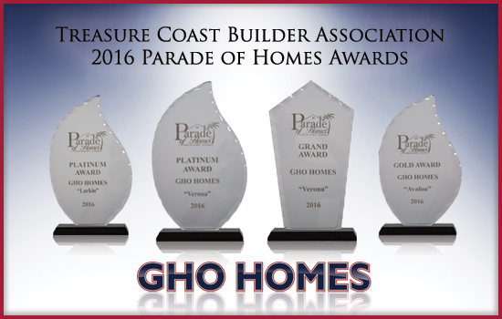 GHO Wins in the Parade of Homes