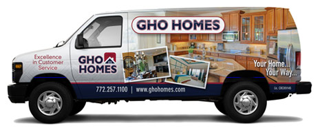 GHO Homes Company Van
